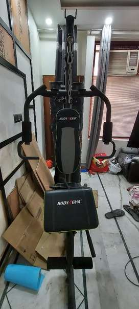 All in one home gym machine