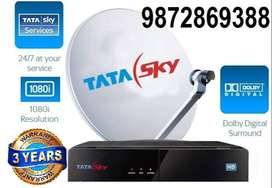 Airtel and Tatasky new digital dth connection