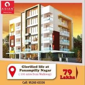 3 BHK Apartment -Near St. Joseph Church, Kadavanthra