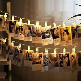 Photo Clip's Led Fairy Light Battery Operated 20Total Clips