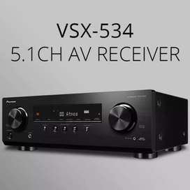 Pioneer VSX-534 Dolby Atmos 4k AV Receiver Brand New AT HiFi Gallery