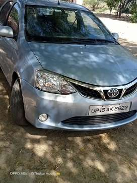 Toyota Etios 2012 Diesel Well Maintained
