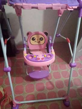 Swing for sale only 1 month used