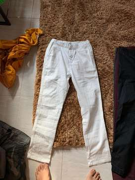 Slim fit pants whit