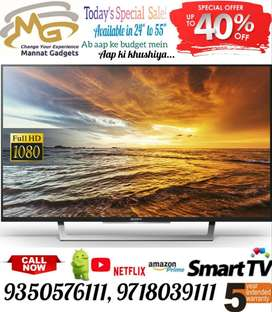 { Today's spl. price } 32 inch smart LED TV // latest android version