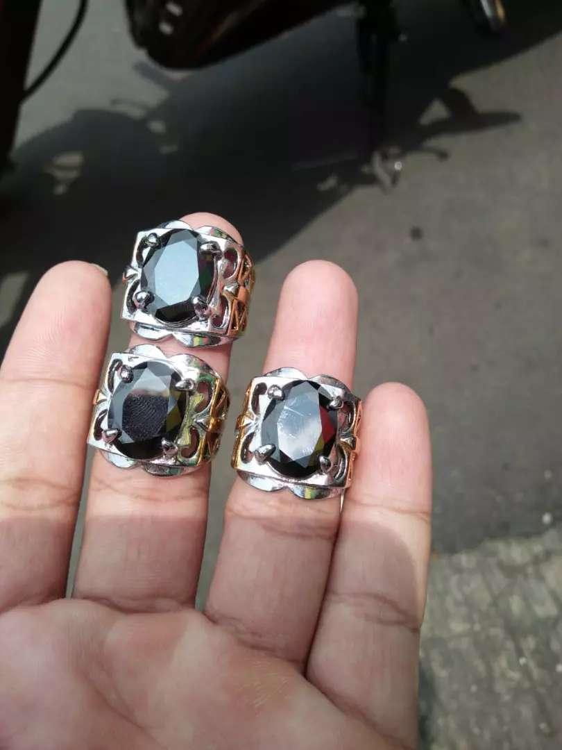 Batu black onyx borongan natural 0