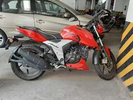 Rode only for 3 months as shifted abroad.
