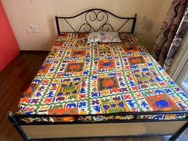 Queen size double bed with storage