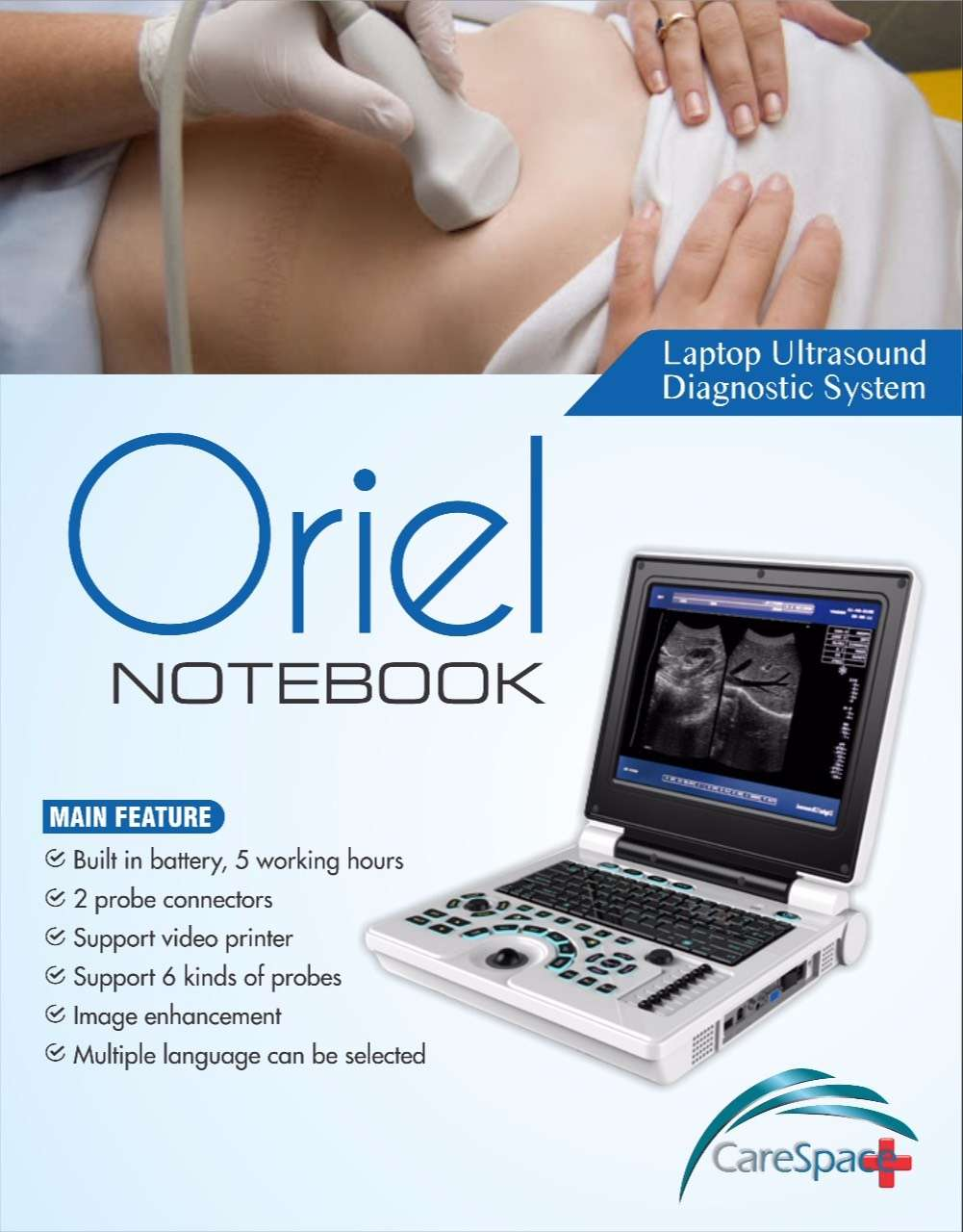 ORIEL NOTEBOOK WITH BATTERY BACKUP BRAND NEW CHINA