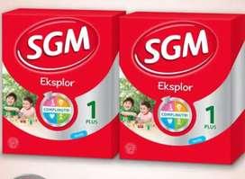 SGM eksplor 1 plus complinutri vanilla 900 gr