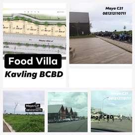 Disewakn  Kavling 500m2 Unk Kuliner Jln Bulevar BCBD Summarecon Bekasi