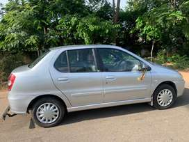Tata Indigo CS LX ( Silver) - 2010 Model - 63K KM, Good Condition
