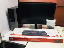 Dell i7 pc 4gb ram 500gb hdd 2gb graphics box pack@11999/-(1year went)