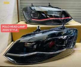 Polo vento led headlights new design European design