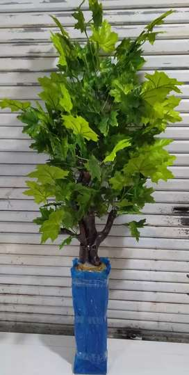 Pohon artificle / imitasi daun mepel tinggi -+150 cm