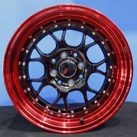 jual velg type NUMERO 1037 HSR Ring.15 Lebar.8-9 PCD.4X100-4X114,3 ET.