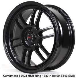 Velg Racing Murah KUMAMOTO 60423 HSR Ring 17