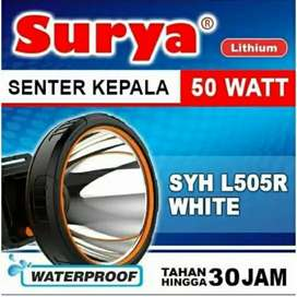 Senter Kepala Selam 50 Watt Surya SYH L505R