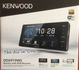 Head Unit Kenwood DDX 919 WS For Toyota | FAJAR MOBIL |