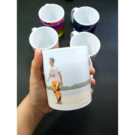 Souvenir Mug Custom Untuk Desain Logo BrandingMu