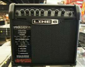 New Line 6 Spider Classic 15 Guitar Amp