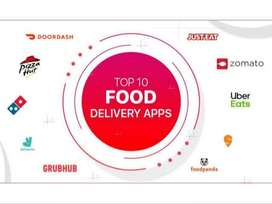 food delivary & collection jobs!!! unlimited