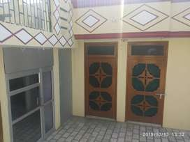 Two room set House for rent and only small family allow