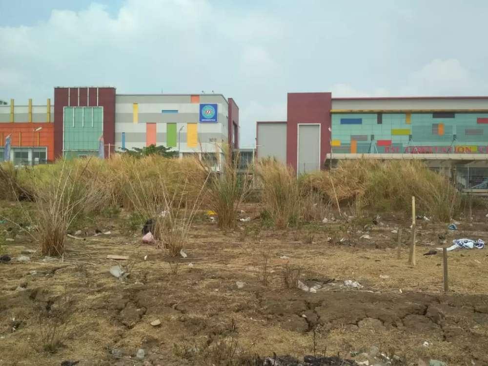 tanah murah 6,5 jt m2 strategis di jalan raya kaliabang luas tanah 2ha