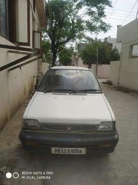 Maruti Suzuki 800 2001 Petrol 58000 Km Driven