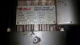 Dinamo motor NLG 1HP 1400 Single-Phase