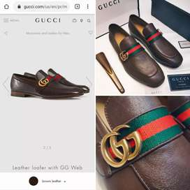 Mens shoes available in different brands.