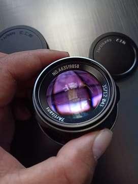 Lensa manual 7Artisans 35mm f1.2 for Sony E-Mount. Not Meike, Kamlan