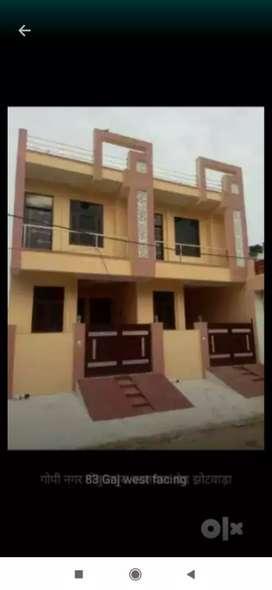 80 Sqyd , 3 Bhk Jda Approved Duplex Villa, 90%