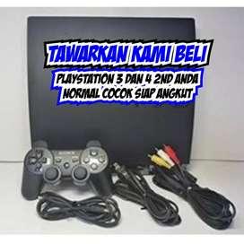 Kami Bayar PlayStation 3 dan 4 2nd Kondisi Normal Siap Meluncur