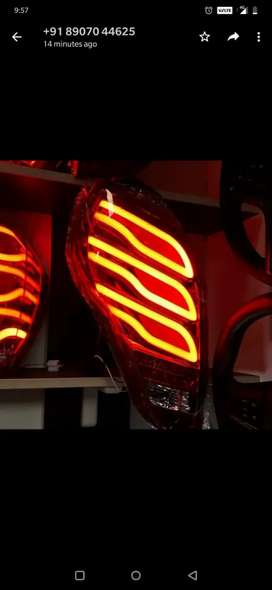 Chevrolet beat led tail lights Benz style matrix edition