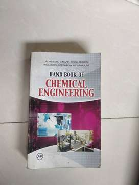 Handbook for chemical engineering