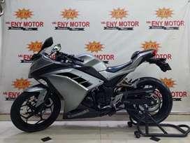 02 Kawasaki Ninja 250 th 2013 siap Turing #Eny Motor#