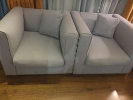 Sofas for sale in a very good condition at reasonable