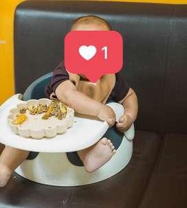 Mamas Papas Baby Snug Grey - Without Play Tray
