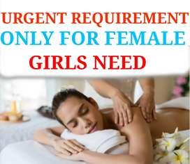 GIRLS URGENT REQUIREMENT FOR PARLOUR JOB