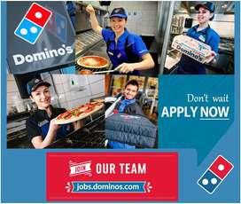 Dominos hiring in Delhi