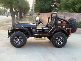 Sidhu motors modified Jeep and Gypsy