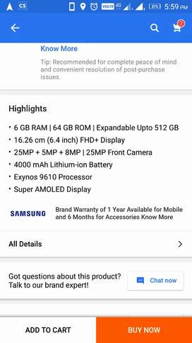 Galaxy A50 New not opened