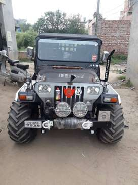 jassal jeep modify moga punjab