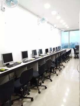full furnished office for rent at newtown City Centre 2 area