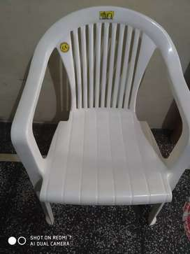 Plastic chair 4 piece