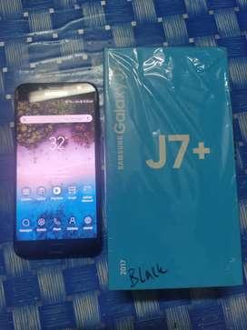 Samsung J7 Plus 4/32Gb Fullset Mulus