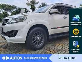 [OLXAutos] Toyota Fortuner 2.5 G TRD VNT 2014 Bensin A/T #Volta Auto