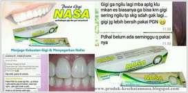 Pasta Gigi Herbal Untuk menghilangkan Kerang