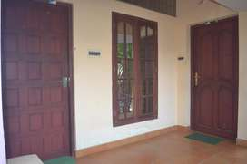 1 BHK semi furnished home (upstairs) for rent in Aluva town